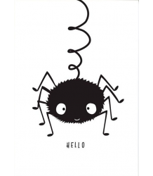 A Little Lovely Company Poster SPIDER A Little Lovely Company Poster SPIN