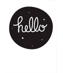 Poster HELLO A Little Lovely Company Poster HELLO