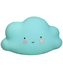 A Little Lovely Company Mini Cloud Light A Little Lovely Company Mini Wolklamp blauw