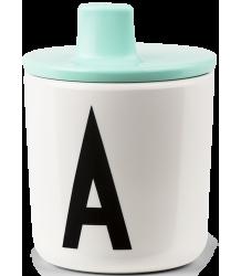 Design Letters Drink Lid Design Letters Drink Lid turquoise