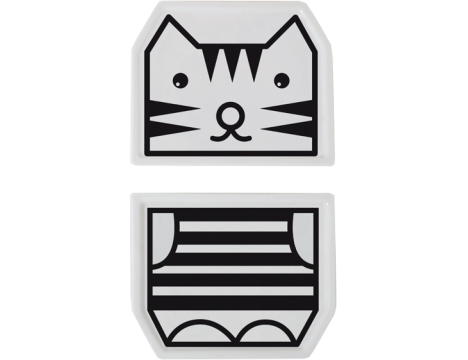 Wee Gallery Mix & Match Plates - Tiger