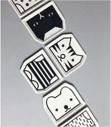 Wee Gallery Mix & Match Plates - Kat Wee Gallery Mix & Match Plates - Cat