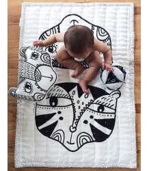 Wee Gallery Organic Quilted Play Blanket - Wild Wee Gallery Organic Quilted Play Blanket - Wild