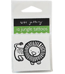 Wee Gallery Temporary Tattoos Set - Jungle Wee Gallery Temporary Tattoos Set - Jungle