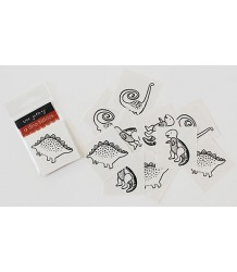 Wee Gallery Temporary Tattoos Set - Dino Wee Gallery Temporary Tattoos Set - Dino