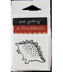 Wee Gallery Temporary Tattoos Set - Dino Wee Gallery Temporary Tattoos Set - Dino