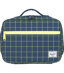 Herschel Pop Quiz Lunchbox Herschel Pop Quiz Lunchbox navy grid