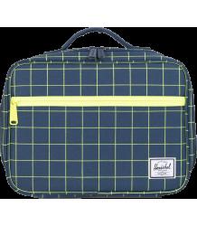 Herschel Pop Quiz Lunchbox Herschel Pop Quiz Lunchbox navy grid