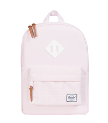 Herschel Heritage Kid Herschel Heritage Kid Ballerina pink with white grid