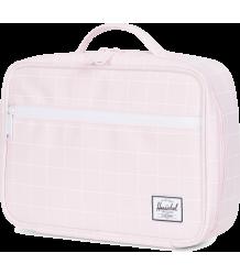 Herschel Pop Quiz Lunchbox Herschel Pop Quiz Lunchbox ballerina pink with grid