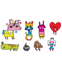 Happy Doodles Set Tattly Happy Doodles Set