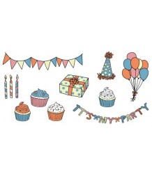 Tattly Party Set Tattly Party Set