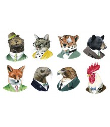 Tattly Animal Society Set Tattly Animal Society Set