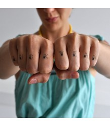 Tattly Knucks Tattly Knucks