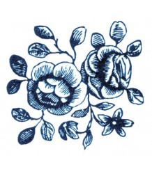 Tattly Cartolina Blooms Tattly Cartolina Blooms