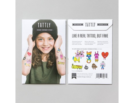 Tattly Happy Doodles Set