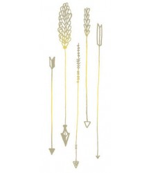 Arrows GOLD Tattly Arrows GOLD