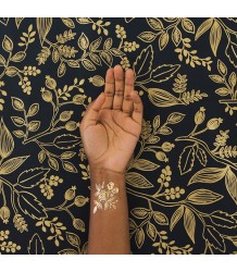 GOLD Floral Tattly GOLD Floral