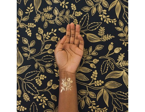 Tattly GOLD Floral