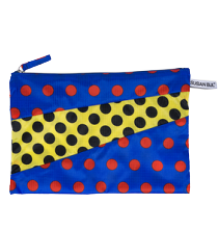 Susan Bijl The New Pouch DOTS Susan Bijl The New Pouch DOTS blue & yellow