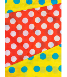 Susan Bijl The New Pouch DOTS Susan Bijl The New Pouch DOTS yellow & red