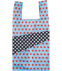 Susan Bijl The New Shoppingbag DOTS Susan Bijl The New Shoppingbag DOTS light blue & black