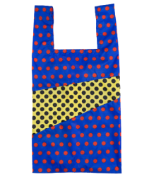 Susan Bijl The New Shoppingbag DOTS Susan Bijl The New Shoppingbag DOTS blue & yellow