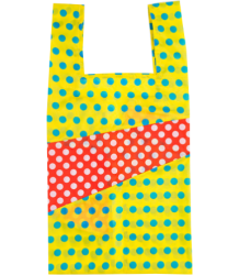 Susan Bijl The New Shoppingbag DOTS Susan Bijl The New Shoppingbag DOTS yellow & red