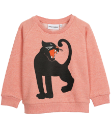 Mini Rodini PANTHER Sweatshirt Mini Rodini PANTHER Sweatshirt pink melange