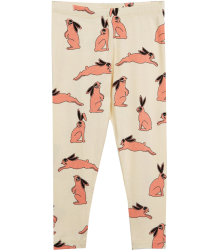 Mini Rodini BUNNY Leggings Mini Rodini BUNNY Leggings pink