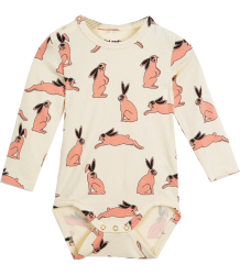 Mini Rodini LS Body BUNNY Mini Rodini LS Body BUNNY pink