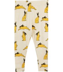 Mini Rodini BUNNY Leggings Mini Rodini BUNNY Leggings yellow