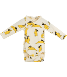 Mini Rodini Wrap Body BUNNYLS Body BUNNY (kopie) Mini Rodini Wrap Body BUNNY yellow