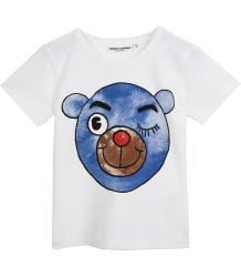 Mini Rodini SS Tee BEAR Mini Rodini SS Tee BEAR blue
