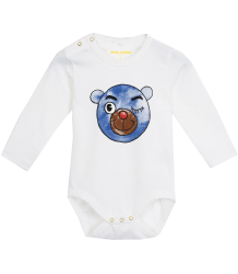 Mini Rodini LS Body BEAR Mini Rodini LS Body BEAR blue