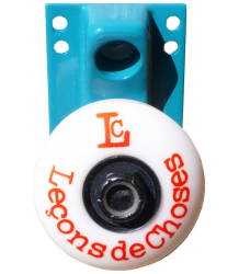 Leçons de Choses Skateboard Wheel Wall Hook Lecons de Choses Skateboard Wiel Muurhaak blue canard