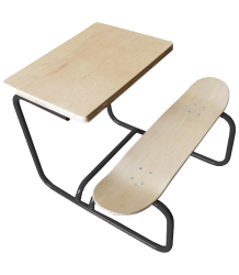 Leçons de Choses Skateboard Desk - LIMITED EDITION Lecons de Choses Skateboard Bureau grijs