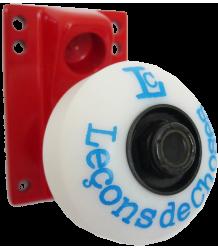 Leçons de Choses Skateboard Wheel Wall Hook Le?ons de Choses Skateboard Wiel Muurhaak rood   blauw