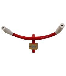 Leçons de Choses Bike Handlebar Coat Rack Lecons de Choses Stuurwiel Kapstok rood