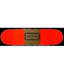 Leçons de Choses Skateboard Boekenplank  Lecons de Choses Skateboard Boekenplank neon oranje