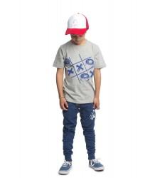Munster Kids Jersey Cruz Pants Munster Kids Jersey Cruz Pants denim blue