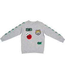 Stella McCartney Kids Billy Sweater BADGES Stella McCartney Kids Billy Sweater TATTOO