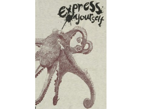 Lion of Leisure T-shirt OCTOPUS
