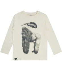 Lion of Leisure T-shirt LS GORILLA Lion of Leisure T-shirt LS GORILLA off-white