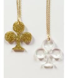 Atsuyo et Akiko Carte Clover Necklace Atsuyo et Akiko Carte Clover Necklace