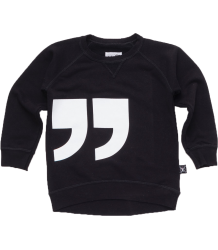 Nununu QUOTATION Pullover Nununu QUOTATION Pullover black