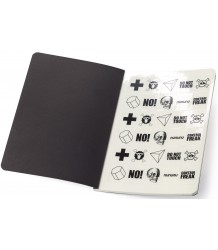 Nununu Notebook Set Nununu Notebook Set black