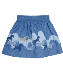 Stella McCartney Kids Helga Skirt PATCH HORSES Stella McCartney Kids Helga Skirt PATCH HORSES
