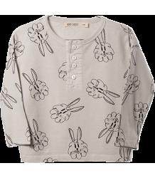 Bobo Choses T-shirt LS Buttons BUNNIES AOP Bobo Choses T-shirt LS Buttons BUNNIES AOP