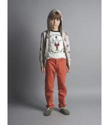 Bobo Choses Hooded Sweatshirt Zip GLASSES Bobo Choses Hooded Sweatshirt Zip GLASSES